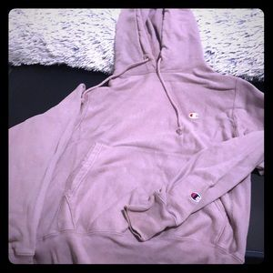 Champion Reverse Weave Hoodie - lavender